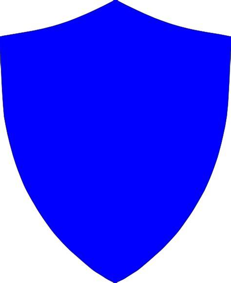 blue crest shield clip art at clker com vector clip art