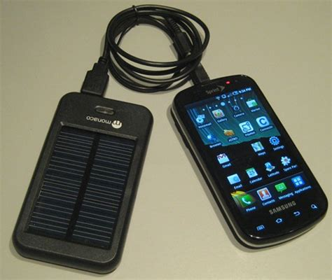 battery powered chargers for cell phones monaco mobile phone solar charger review power cellphones
