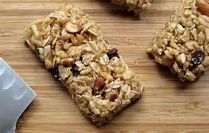 healthy granola bars shanti s