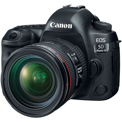5d canon canon eos 5d iv dslr with 24 70mm f 4l lens