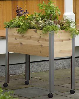 Standing Vegetable Planter vegetable gardening with disabilities veggie gardener