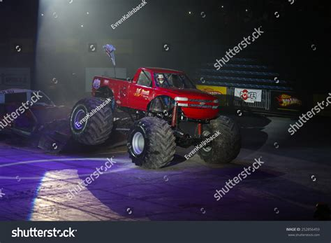 monster truck show january 2015 istanbul turkey january 31 2015 monster truck lil