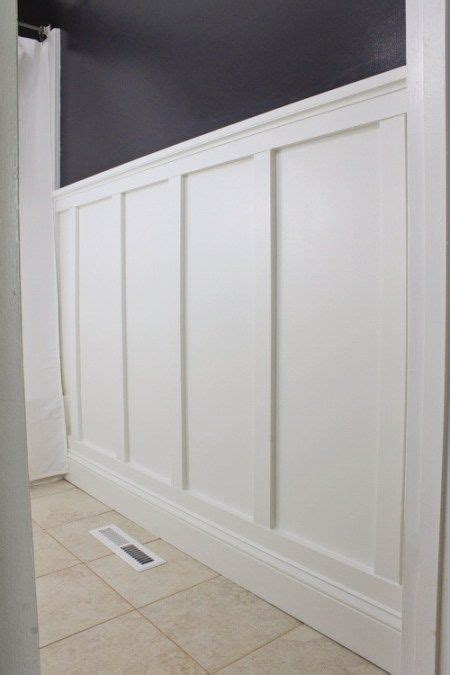 Board And Batten Wainscoting Ideas by Board And Batten Bathroom Diy Angela Made