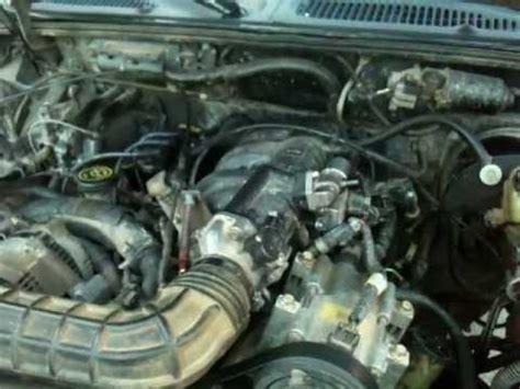 motor ford explorer 1996 4.0 v6 efi youtube