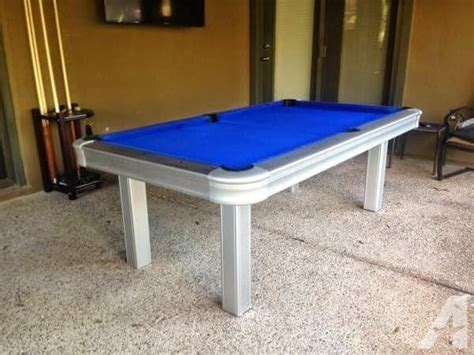 Outdoor Pool Tables For Sale by Brand New Outdoor Pool Table With All Weather Cloth