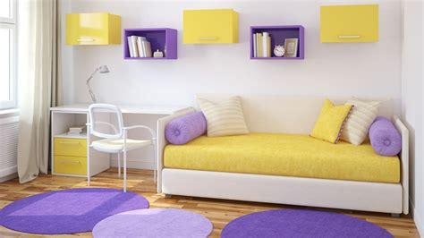 decoracion habitacion juvenil morada color morado o lila para dormitorios