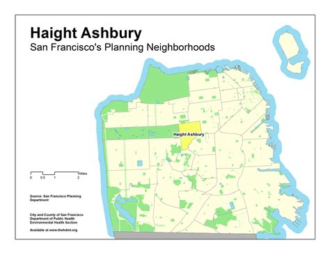 san francisco map haight ashbury counterculture movement san francisco