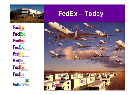 Fedex Supply Chain Mba Intern by Dave Kevern From Fedex Global Supply Chain Services