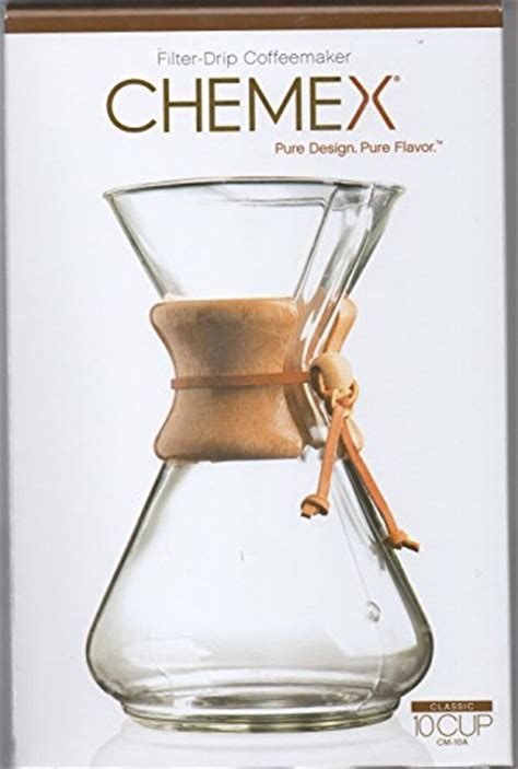 Chemex Classic Series Wood Collar 6 Cups Cm 6a chemex 8 cup classic series glass coffeemaker 11street malaysia coffee machine accessories