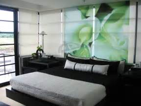 Shanghai china famous landmarks besides mint green and black bedroom