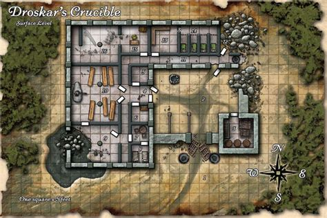 house d dwarven ruins hollow s last hope obsidian portal