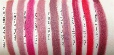 Lip Liner Catrice passing fancy essence catrice lipliners in 9 shades
