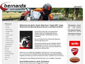 Yamaha Motorrad Service Deutschland by Bernards Motorrad Service Gmbh In J 252 Hnsdorf Motorradh 228 Ndler
