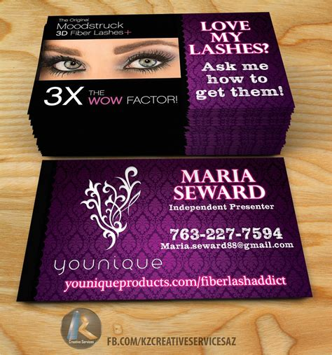 Younique Business Card Template