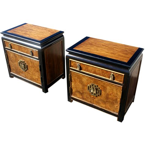Chin Hua Nightstands By Century Furniture Chinoiserie Asian Style Vintage 70s Ebay Regency Chin Hua Nightstands By Century Furniture Interesting Furniture Hardware