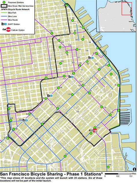 san francisco map ness sfmta releases preliminary map of bike station