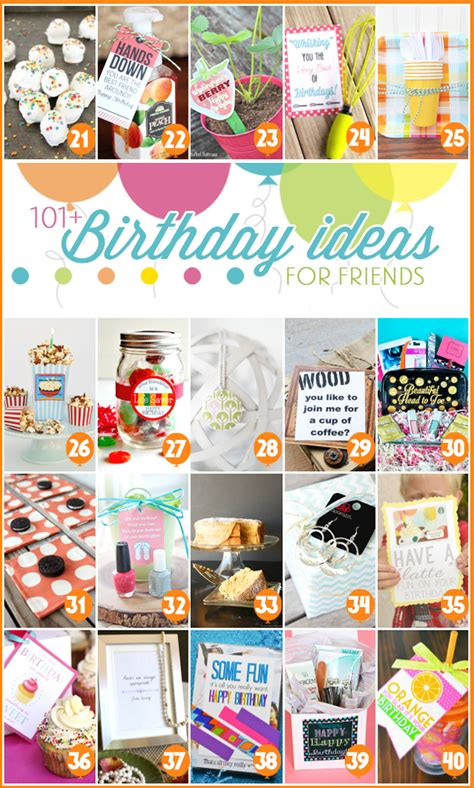 small gift ideas for friends 101 creative inexpensive birthday gift ideas