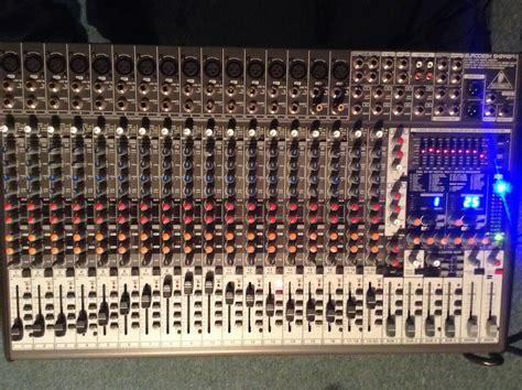 Mixer Behringer Sx2442fx behringer eurodesk sx2442fx image 615929 audiofanzine