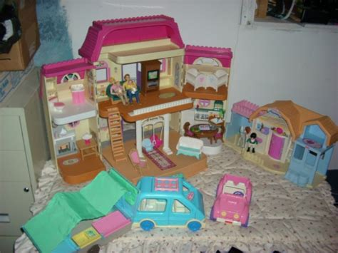 fisher price family doll house fisher price dollhouse loving family people cer lot