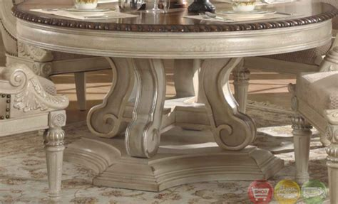 white dining room sets formal halyn antique white formal dining room set