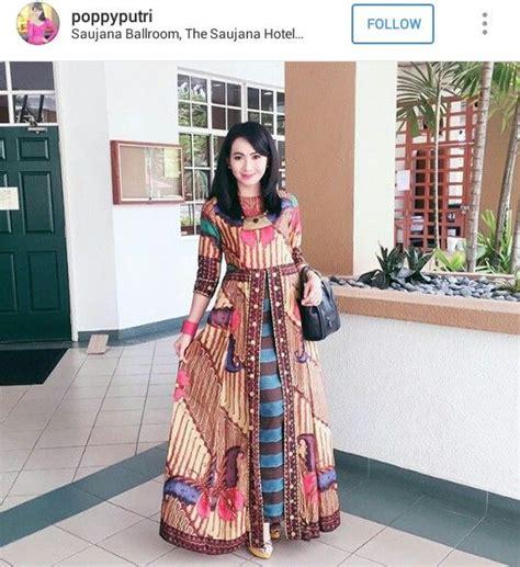 Baju Batik Unique best 25 model baju batik ideas on batik dress