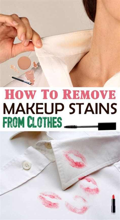 Fashion Advice Removing Make Up Stains by 34 Clothes Hacks That Are Simply Genius