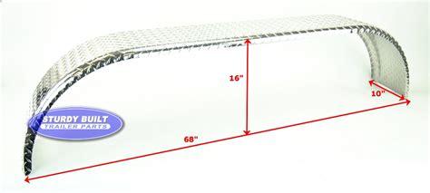diamond plate boat trailer fenders aluminum diamond plate boat trailer fender tandem axle 10