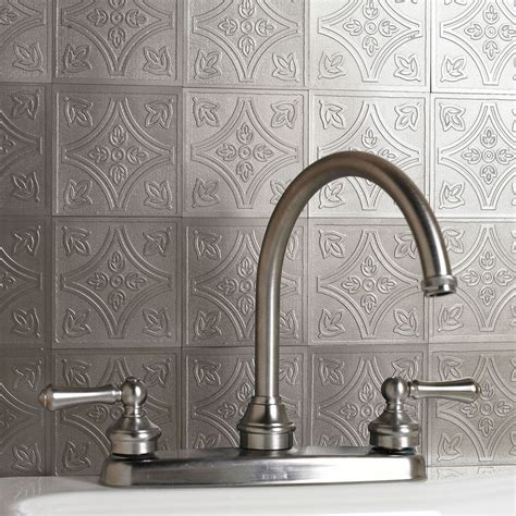 peel and stick wall metal embossed tiles kitchen dining