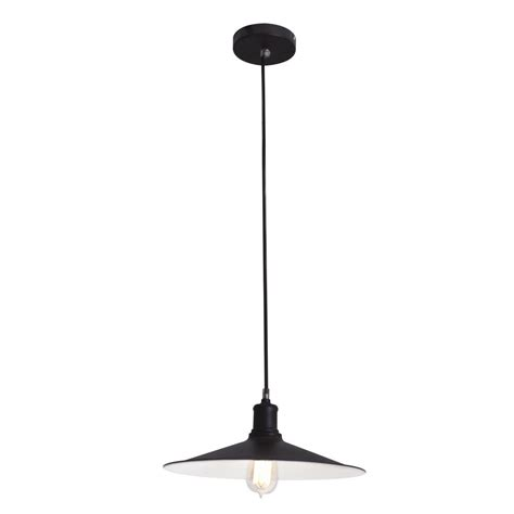 home depot barn light globe electric 1 light matte black barn light pendant