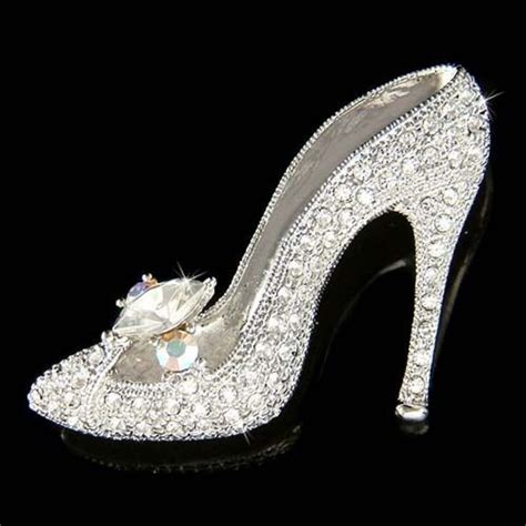 glass slipper high heels w swarovski cinderella glass slippers high heel