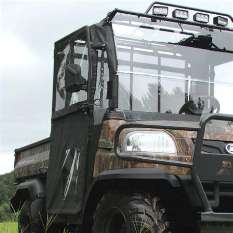 doors for kubota rtv x900 hinged door and rear window kit for the kubota rtv x900