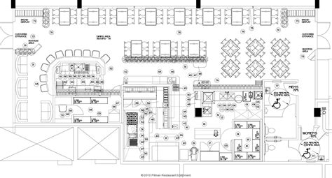 commercial kitchen design plans commercial steak house kitchens layout google search