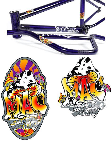 Custom Bike Stickers