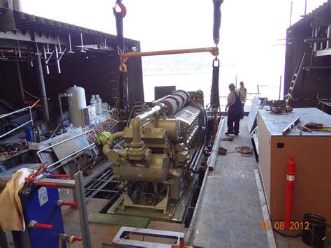 ferry engine olympic class ferries ship technology