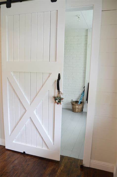 How To Make A Barn Door 20 Diy Barn Door Tutorials