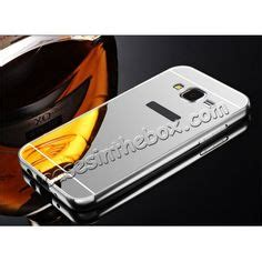 Mirror Samsung J5 2015 Silver Bumper kwmobile and light weight