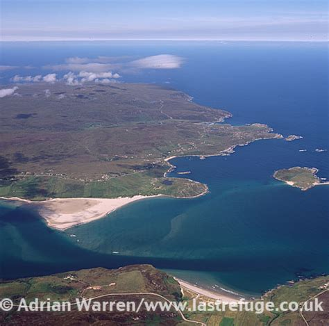 Search In Scotland Last Refuge Aerial Image Search Kyle Of Tongue Highlands Scotland