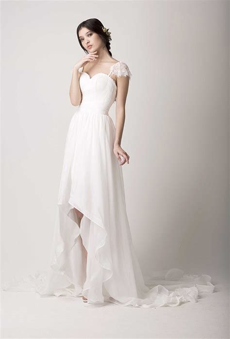 High Wedding Dresses by The New Look High Low Wedding Dresses Are Wow Onefabday