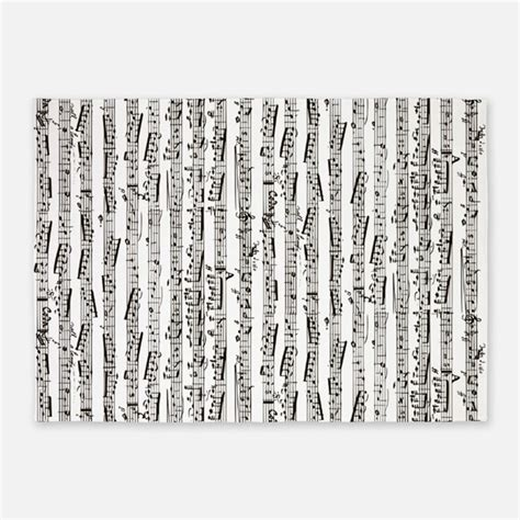 Black Music Notes Rugs Black Music Notes Area Rugs Rug Song