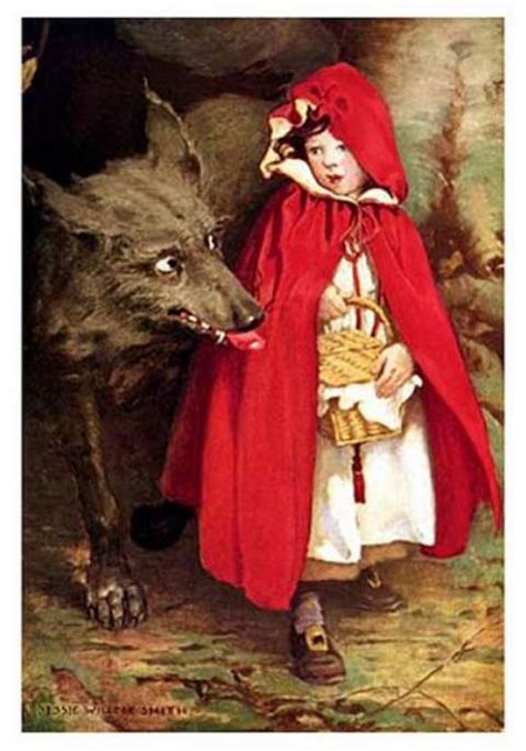 little red little red riding hood in pictures top illustrations by top artists