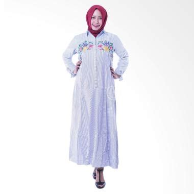 Gamis Batik Azizah jual baju gamis model terbaru harga menarik blibli