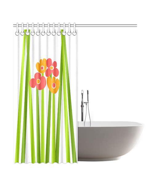 mod shower curtain mod floral shower curtain original design kayci