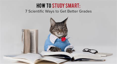 7 Ways To Get Better Grades by How To Study Smart 7 Scientific Ways To Get Better Grades