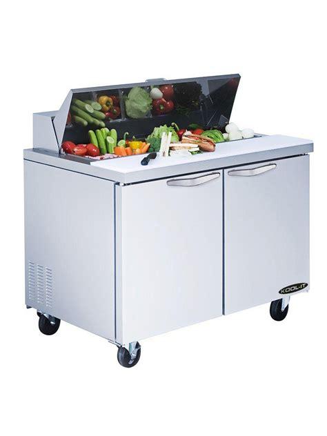 sandwich prep table pan dividers kool it kst 36 2 sandwich prep table refrigeration