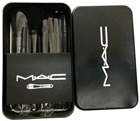 Mac Brush Set 12 Brushes m a c cosmetic makeup brush set with storage box price