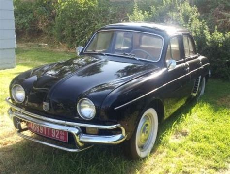 renault dauphine for sale 1959 renault dauphine for sale front three quarter view