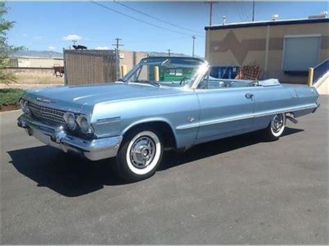 buy new wow 1963 chevy impala ss true super sport