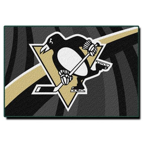 Pittsburgh Penguins Rug by Pittsburgh Penguins Nhl 39 Quot X 59 Quot Tufted Rug