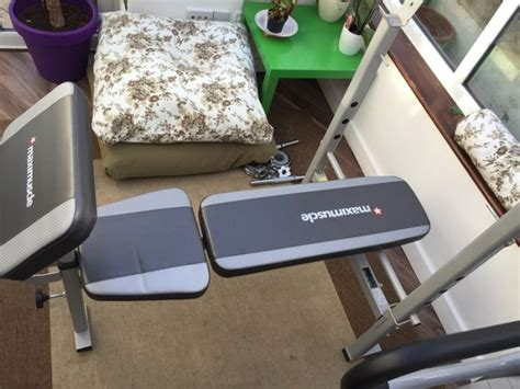 maximuscle weight bench maximuscle weight bench for sale in dundrum dublin from
