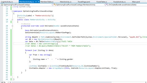xamarin android resource layout simplelistitem1 how can display sqlite database table data listview